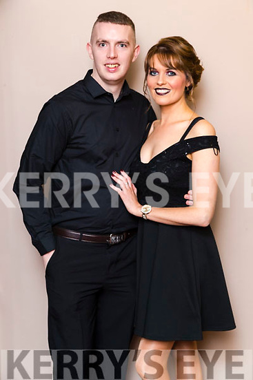 John Higgins (Nisus Fitness) and Andrea Brosnan (An Teach Beag) Dancers at the John Mitchels GAA 'Strictly Come Dancing' at Ballygarry House Hotel on Sunday night.