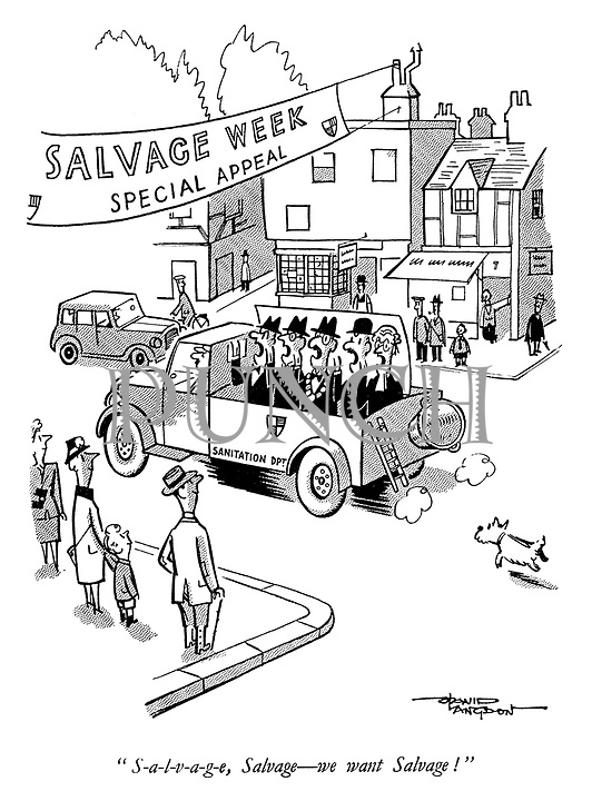 """""""S-a-l-v-a-g-e, Salvage - we want Salvage!"""""""