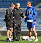 David Weir, Ally McCoist and Walter Smith