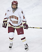 Tim Kunes - The Boston College Eagles and Ferris State Bulldogs tied at 3 in the opening game of the Denver Cup on Friday, December 30, 2005, at Magness Arena in Denver, Colorado.  Boston College won the shootout to determine which team would advance to the Final.