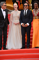 CANNES, FRANCE. May 25, 2019: Pawel Pawlikowski, Elle Fanning, Alejandro Gonzalez Inarritu & Maimouna N'Diaye at the Closing Gala premiere of the 72nd Festival de Cannes.<br /> Picture: Paul Smith / Featureflash