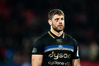 Dave Attwood of Bath Rugby looks dejected after the match. Heineken Champions Cup match, between Stade Toulousain and Bath Rugby on January 20, 2019 at the Stade Ernest Wallon in Toulouse, France. Photo by: Patrick Khachfe / Onside Images