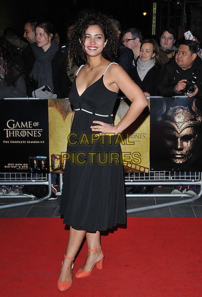 Meena Rayann attends the &quot;Game of Thrones : Hardhome&quot; season 5 special screening, Empire cinema, Leicester Square, London, UK, on Monday 14 March 2016.<br /> CAP/CAN<br /> &copy;Can Nguyen/Capital Pictures