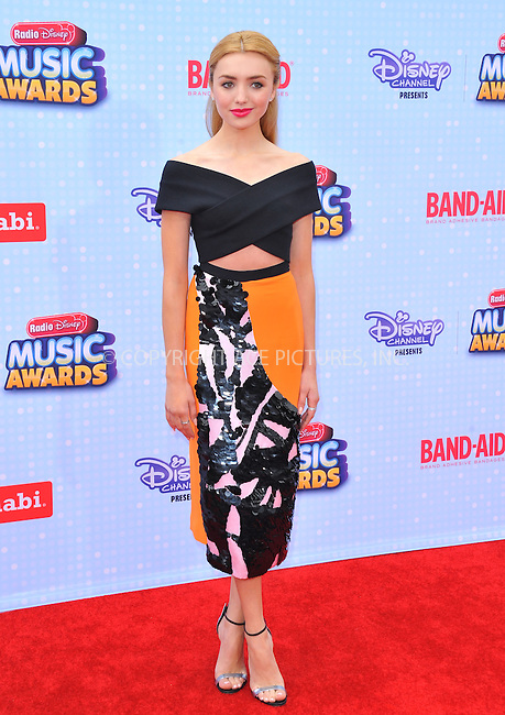 WWW.ACEPIXS.COM<br /> <br /> April 25 2015, LA<br /> <br /> Peyton List arriving at the 2015 Radio Disney Music Awards at Nokia Theatre L.A. Live on April 25, 2015 in Los Angeles, California.<br /> <br /> By Line: Peter West/ACE Pictures<br /> <br /> <br /> ACE Pictures, Inc.<br /> tel: 646 769 0430<br /> Email: info@acepixs.com<br /> www.acepixs.com