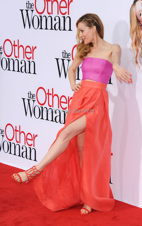 "Leslie Mann arriving at the ""The Other Women"" Los Angeles Premiere held at the Regency Village Theater in Westwood, CA. April 21, 2014."