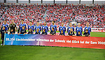 Fussball EM-Vorbereitung Nationalmannschaften Schweiz - Liechtenstein