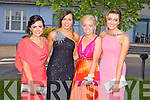 STYLE: Showing their style at the ISK debs at the Ballyroe Heights hotel, Tralee on Thursday l-r: Danilee O'Sullivan, Michelle O'Connor, Amy Cronin and Kaelin Fox.