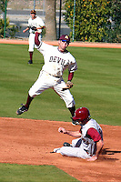 Dustin Pedroia #2 of the 2004 Arizona State Sun Devils (Bill Mitchell/Four Seam Images)
