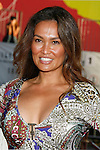 """Actress Tia Carrere arrives at the The World Premiere of """"The X-Files: I Want To Believe"""" at Mann's Grauman Chinese Theatre on July 23, 2008 in Hollywood, California."""