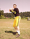 Pittsburgh Steeler Len Dawson (16)  portrait from his 1958 season.Len Dawson played for 19 years, with 3 different teams. He was a 7-time Pro Bowler and was inducted to the Pro Football Hall of Fame in 1987.(SportPics)