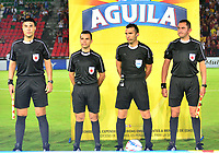 IBAGUÉ-COLOMBIA , 07 -11-2018 . Carlos Betancur Gutiérrez referee central durante el encuentro entre el Deportes Tolima y el Once Caldas durante partido por la fecha 14 de la Liga Águila II 2018 jugado en el estadio Manuel Murillo Toro de la ciudad de Ibagué./ Central referee Carlos Betancur Gutierrez during match Deportes Tolima and Once Caldas during the match for the date 14 of the Aguila League II 2018 played at Manuel Murillo Toro  stadium in Ibague city. Photo: VizzorImage/ Juan Carlos Escobar / Contribuidor