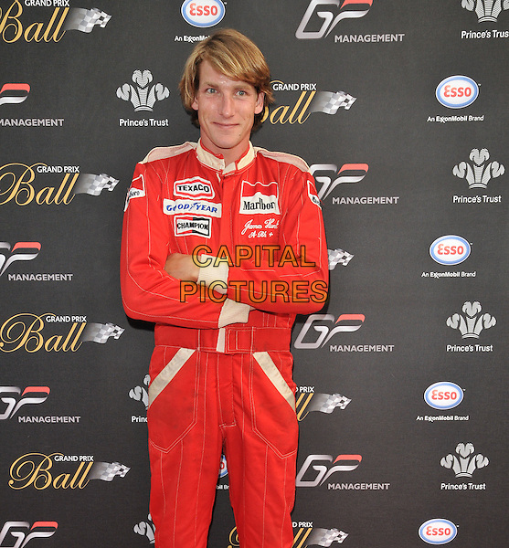 LONDON, ENGLAND - JULY 01: Freddie Hunt attends the Grand Prix Ball, The Hurlingham Club, Ranelagh Gardens, on Wednesday July 01, 2015 in London, England, UK. <br /> CAP/CAN<br /> &copy;CAN/Capital Pictures