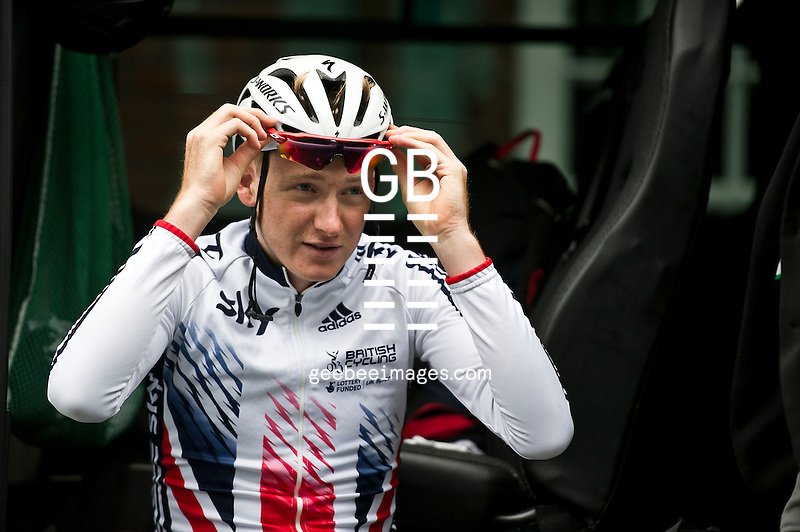 2016 Tour of Britain<br /> Stage 2, Carlisle to Kendal<br /> 5 September 2016<br /> Tao GEOGHEGAN HART, Great Britain