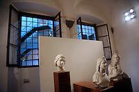La Speranza, La Fede e La Sibilla,sculture marmoree di Tino di Camaino.Museo dell'Opera del Duomo..Firenze.Florence.