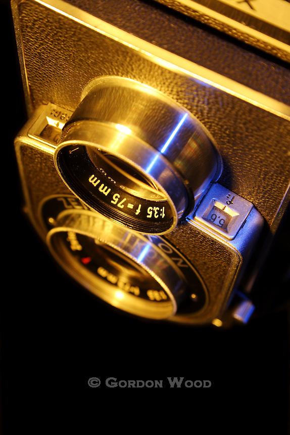 Classic Twin Lens Reflex Camera