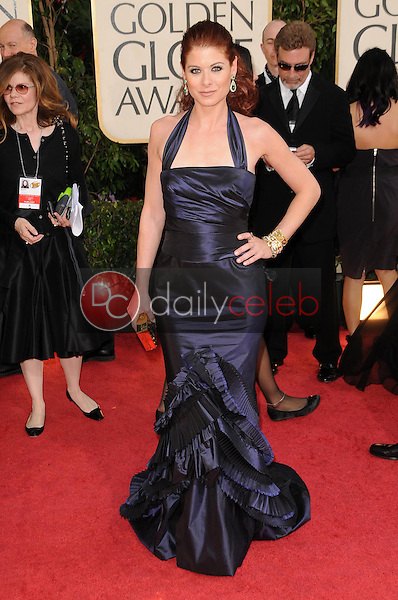 Debra Messing<br />at the 66th Annual Golden Globe Awards. Beverly Hilton Hotel, Beverly Hills, CA. 01-11-09<br />Dave Edwards/DailyCeleb.com 818-249-4998
