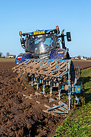 Lifting sugar beet, ploughing and drilling winter wheat - Lincolnshire, December