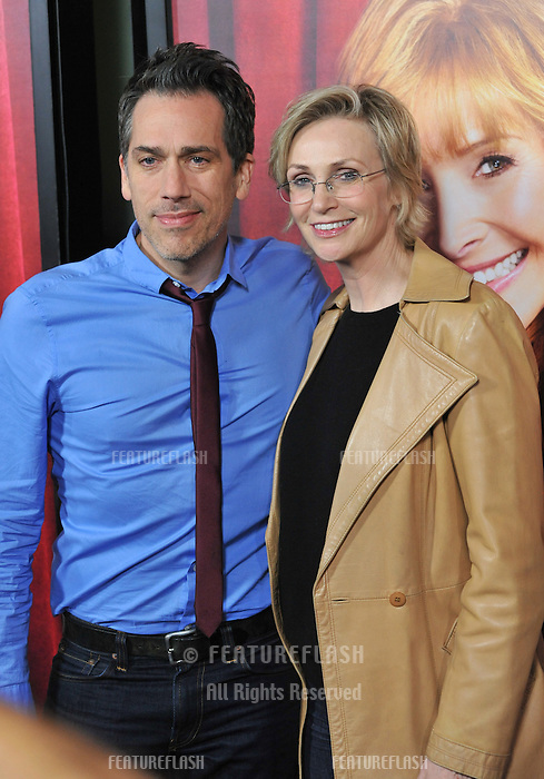 "Jane Lynch & Paul Witten at the premiere of HBO TV series ""The Comeback"" at the El Capitan Theatre, Hollywood.<br /> November 5, 2014  Los Angeles, CA<br /> Picture: Paul Smith / Featureflash"