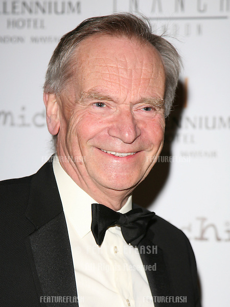 Jeffrey Archer arriving for the Pia Michi Prom wear fashion show at the Millenium Hotel, London. 15/02/2012 Picture by: Alexandra Glen / Featureflash