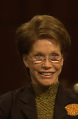 Mary Tyler Moore testifies before the United States Senate Appropriations Subcommittee on Labor, HHS, and Education on the benefits of stem cell research in Washington, D.C. on September 14, 2000..Credit: Ron Sachs / CNP