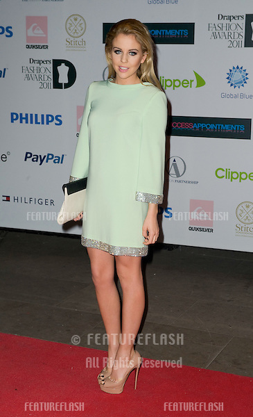 Lydia Bright arriving for the Drapers Fashion Awards at the Grosvenor House Hotel in London. 16/11/2011 Picture by: Simon Burchell / Featureflash.