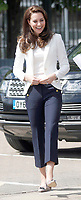 16 June 2017 - Princess Kate, Duchess of Cambridge, Patron of the 1851 Trust, at the charity's final Land Rover BAR Roadshow at the Docklands Sailing and Watersports Centre in London. Photo Credit: ALPR/AdMedia
