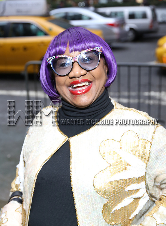 """Irene Gandy attends the Broadway Opening Night Performance for """"Beetlejuice"""" at The Wintergarden on April 25, 2019  in New York City."""