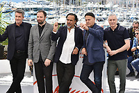 CANNES, FRANCE - MAY 14: (L-R) Jury Members Pawel Pawlikowski, Yorgos Lanthimos, President of the Main competition jury Alejandro Gonzalez Inarritu, Jury Members Enki Bilal and Robin Campillo attend the Jury photocall during the 72nd annual Cannes Film Festival on May 14, 2019 in Cannes, France. <br /> CAP/PL<br /> ©Phil Loftus/Capital Pictures