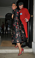 Emma Thynn, Viscountess Weymouth out &amp; about, spotted leaving Annabel's restaurant, Berkeley Square, London, England, UK, on Tuesday 06 November 2018.<br /> CAP/CAN<br /> &copy;CAN/Capital Pictures