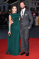 "Armie Hammer and Elizabeth Chambers<br /> at the London Film Festival 2016 premiere of ""Free Fire at the Odeon Leicester Square, London.<br /> <br /> <br /> ©Ash Knotek  D3182  16/10/2016"