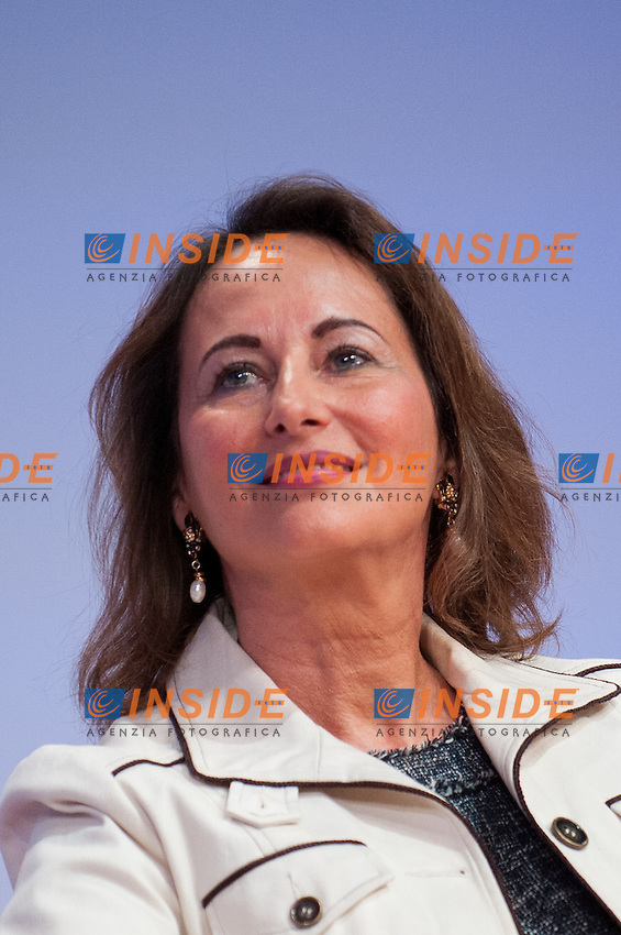 Segolene Royal Vice presidente internazionale socialista.Tolosa 26/10/2012 .Congresso del Partito Socialista francese.Foto Florent Dupuy / Panoramic / Insidefoto