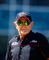 Mar 16, 2018; Gainesville, FL, USA; NHRA former top fuel driver Don Garlits during qualifying for the Gatornationals at Gainesville Raceway. Mandatory Credit: Mark J. Rebilas-USA TODAY Sports