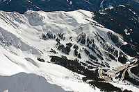 Aerial of Arapahoe Basin Ski Area. Feb 2014