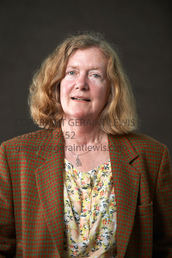 Cynthia Rogerson, American novelist  and writer of If I Touched The Earth  at The Edinburgh International Book Festival   . Credit Geraint Lewis