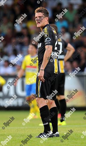 2014-07-26 / Voetbal / seizoen 2014-2015 / KVC Westerlo - Sporting Lokeren / Alexander Scholz<br /><br />Foto: mpics.be