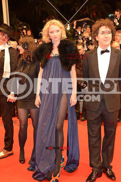 """Lily Cole and Guillaume Gallienne attending the """"Jagten (The Hunt)"""" Premiere during the 65th annual International Cannes Film Festival in Cannes, France, 20th May 2012...Credit: Timm/face to face /MediaPunch Inc. ***FOR USA ONLY***"""