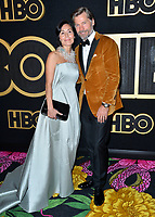 LOS ANGELES, CA. September 17, 2018: Nikolaj Coster-Waldau &amp; Nukaaka Coster-Waldau at The HBO Emmy Party at the Pacific Design Centre.<br /> Picture: Paul Smith/Featureflash
