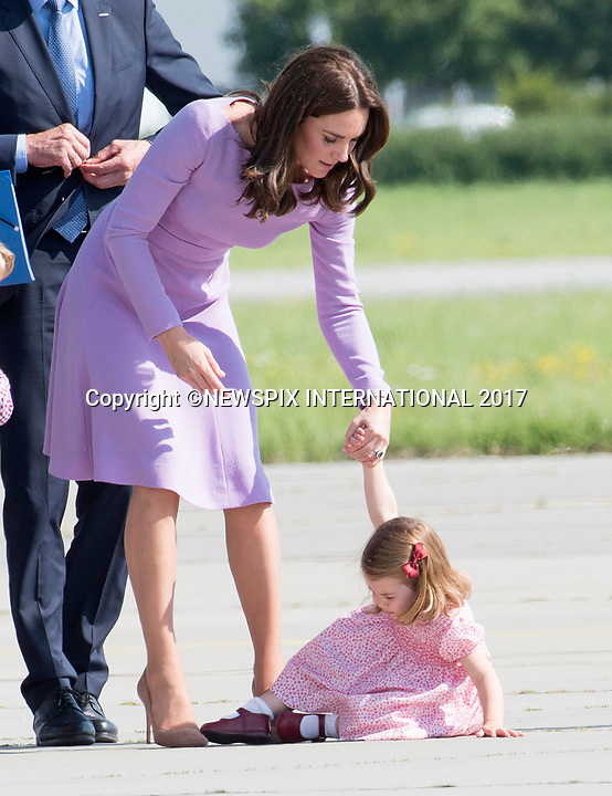 Princess Charlotte Throws A Tantrum