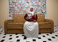 Donna curda, parente di scomparsi Parents of disappeared kurdish Parents de kurdes disparus