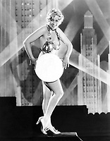 Gold Diggers of 1933 (1933)<br /> Joan Blondell<br /> *Filmstill - Editorial Use Only*<br /> CAP/KFS<br /> Image supplied by Capital Pictures