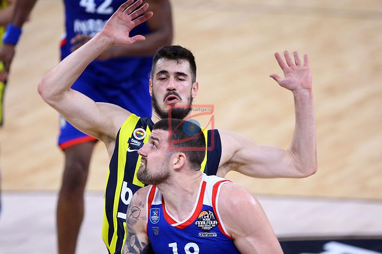 Turkish Airlines Euroleague.<br /> Final Four - Vitoria-Gasteiz 2019.<br /> Semifinals.<br /> Fenerbahce Beko Istanbul vs Anadolu Efes Istanbul: 73-92.<br /> Nikola Kalinic vs Adrien Moerman.