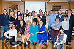 Mary O'Brien celebrating her 90th birthday in Ballygarry on Saturday night with her children and grand children.