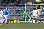 Raith Rovers v St Johnstone....08.03.14    Scottish Cup Quarter Final<br /> Joe Cardle equalises for Raith<br /> Picture by Graeme Hart.<br /> Copyright Perthshire Picture Agency<br /> Tel: 01738 623350  Mobile: 07990 594431