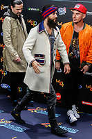 MADRID, SPAIN - NOVEMBER 10: November 10: Jared Leto with 30 Seconds to Mars at the 40 Principales Music Awards at the WiZink Center in Madrid, Spain November 10, 2017. Credit: Jimmy Olsen/Media Punch ***NO SPAIN*** /NortePhoto.com