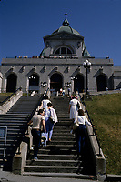 Montreal (Qc) CANADA - File photo taken between 1983 and 1989  - - Saint-Joseph Oratory
