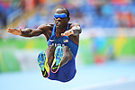 Lex Gillette (USA), <br /> SEPTEMBER , 2016 - Athletics : <br /> Men's Long Jump T11 at Olympic Stadiumduring the Rio 2016 Paralympic Games in Rio de Janeiro, Brazil.<br /> (Photo by AFLO SPORT)