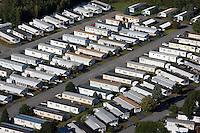 Trailer park aerial, Leominster, MA