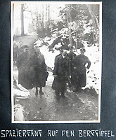 BNPS.co.uk (01202 558833)<br /> Pic: Jones&Jacob/BNPS<br /> <br /> Hitler 'walking up a mountain' near Berchtesgaden before the war..<br /> <br /> Springtime for Hitler...Chilling album of pictures taken by one of Hitlers bodyguards illustrates the Nazi dictators rise to power.<br /> <br /> An unseen album of photographs taken by a member of Hitlers own elite SS bodyguard division in the years leading up to the start of WW2.<br /> <br /> The 1st SS Panzer Division 'Leibstandarte SS Adolf Hitler' or LSSAH began as Adolf Hitler's personal bodyguard in the 1920's responsible for guarding the Führer's 'person, offices, and residences'.