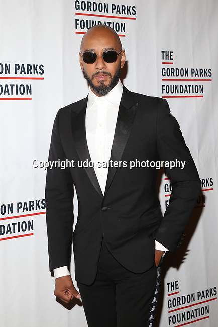 Producer, DJ, Hip Hop Artist, Member of Ruff Ryders and Art Collector Kasseem Dean aka Swizz Beatz attends THE GORDON PARKS FOUNDATION HONORS CONGRESSMAN JOHN LEWIS, MAVIS STAPLES,<br />