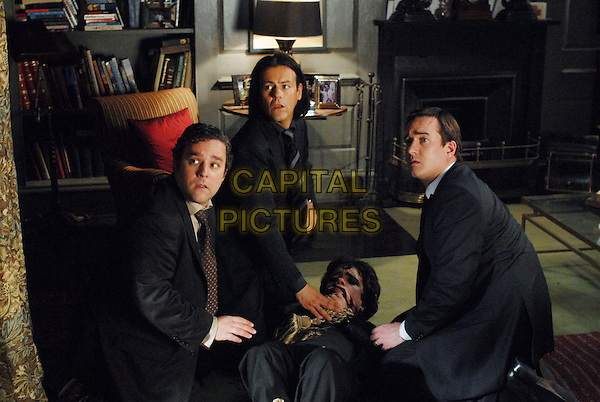 Andy Nyman, Rupert Graves, Peter Dinklage, Matthew Macfadyen<br /> in Death at a Funeral (2007) <br /> *Filmstill - Editorial Use Only*<br /> CAP/NFS<br /> Image supplied by Capital Pictures